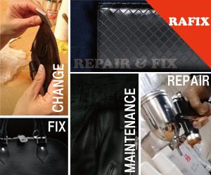革製品のサイフ・バック・鞄などの修理やリペアはRAFIXにお任せください。